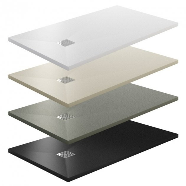 Lyon - Gel Coat Ultra Slim Shower Tray
