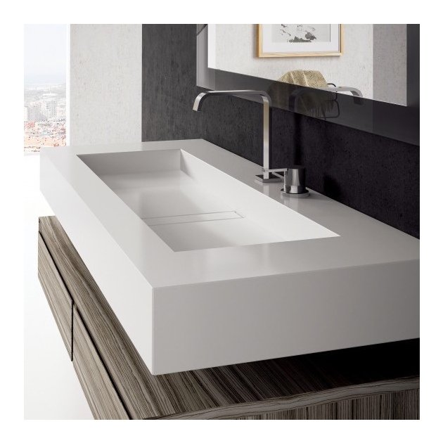 Reflection - Silestone Wall Mounted Washbasin