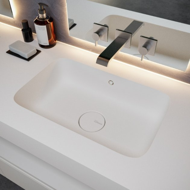 Serenity 7530 - DuPont™ Corian® Wall Mounted Washbasin