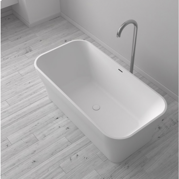 Silene - Freestanding Solid Surface Bathtub 170cm