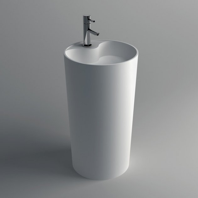 Spark - Solid Surface Freestanding Washbasin