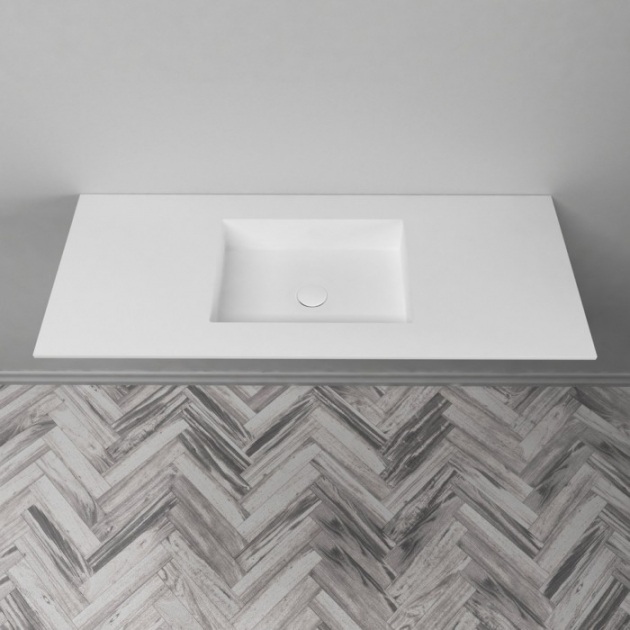 Square - DuPont™ Corian® Vanity Top