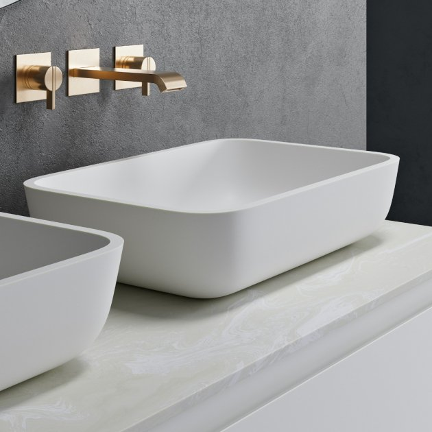 Nantes - Solid Surface Counter Top Washbasin