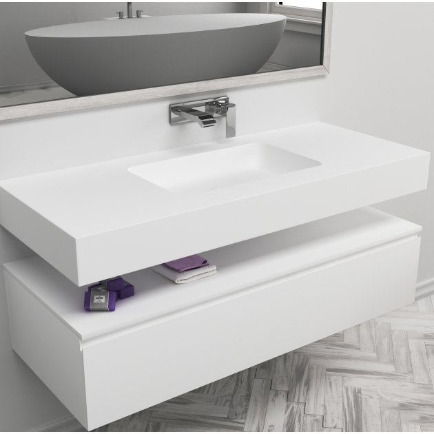 Toronto - DuPont™ Corian® Wall Mounted Washbasin