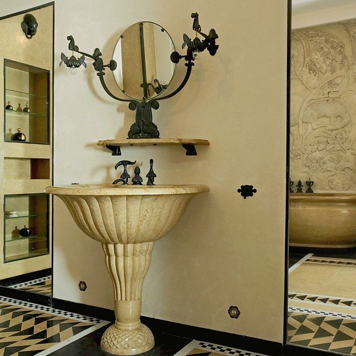 Creating an Art Deco inspired bathroom