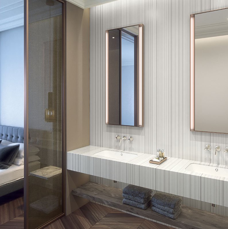 How to Choose the Perfect Corian® Colour for your Bathroom