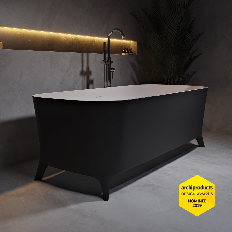 Black is back – the neo-gothic minimalism of rich, black bathrooms