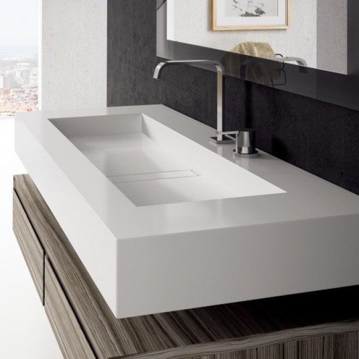 Reflections on 'Reflection' – the beautiful wall mounted washbasin from Silestone®