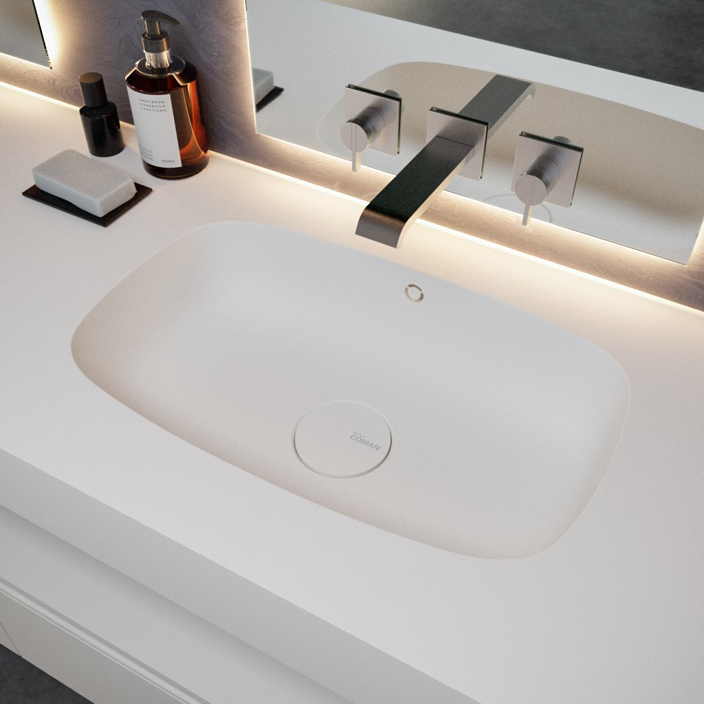 The glory of Glacier White – the most enduring Corian® colour