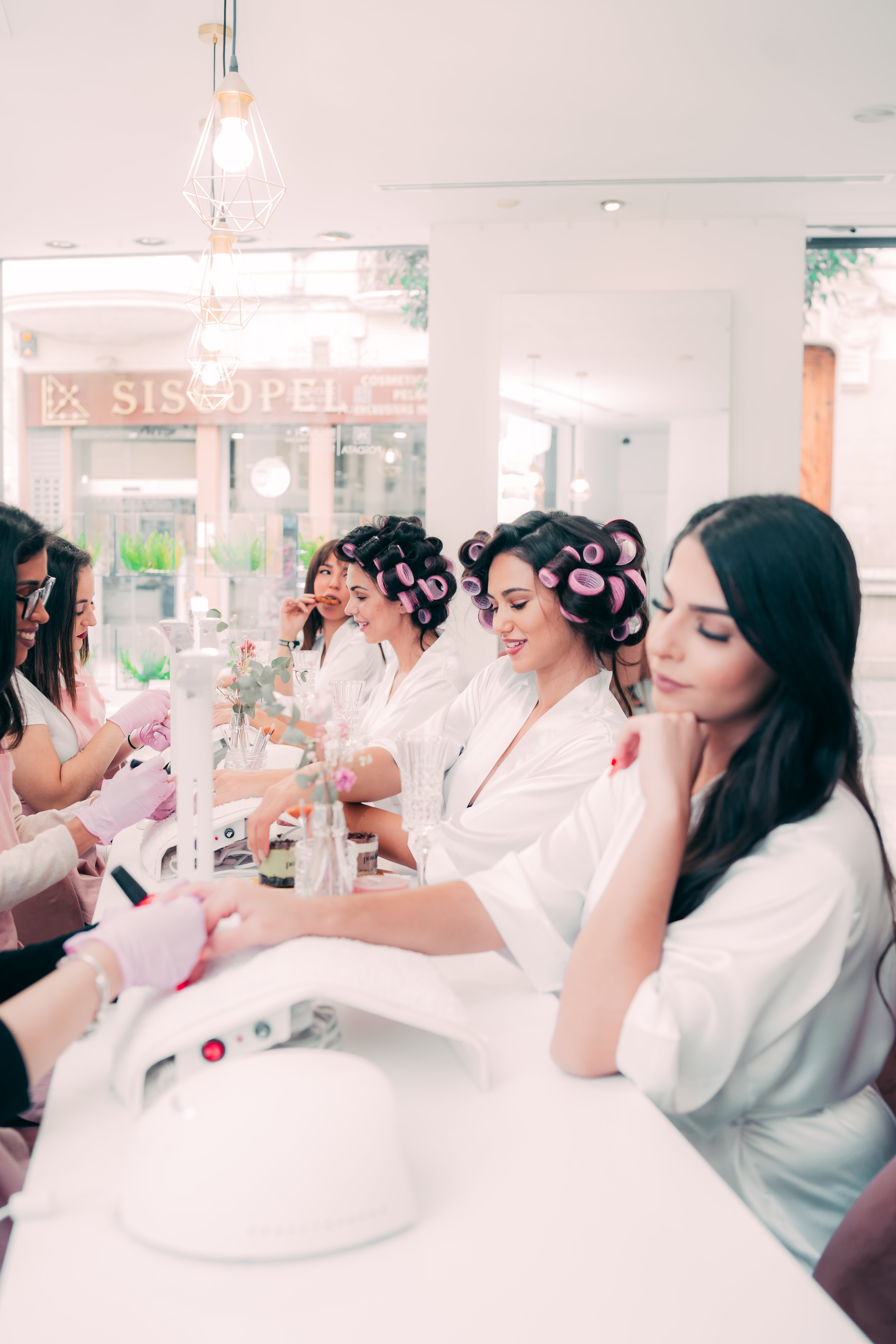The importance of being fabulous: Stéphanie Agostino's stunning Rose Beauty Salon