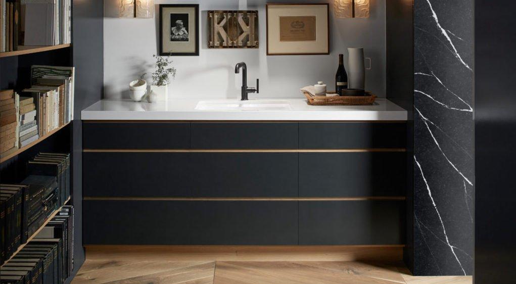 Silestone bathroom cabinet