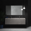 Renaissance - Mobile Sospeso con Lavabo in DuPont™ Corian® Colour