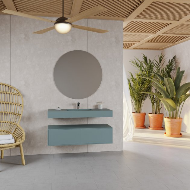 Area - Corian® Colour Wall Mounted Washbasin