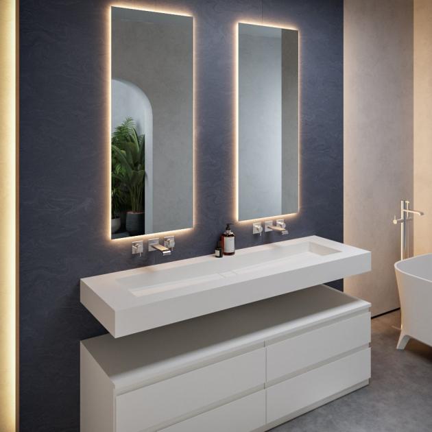 Area - DuPont™ Corian® Wall Mounted Washbasin