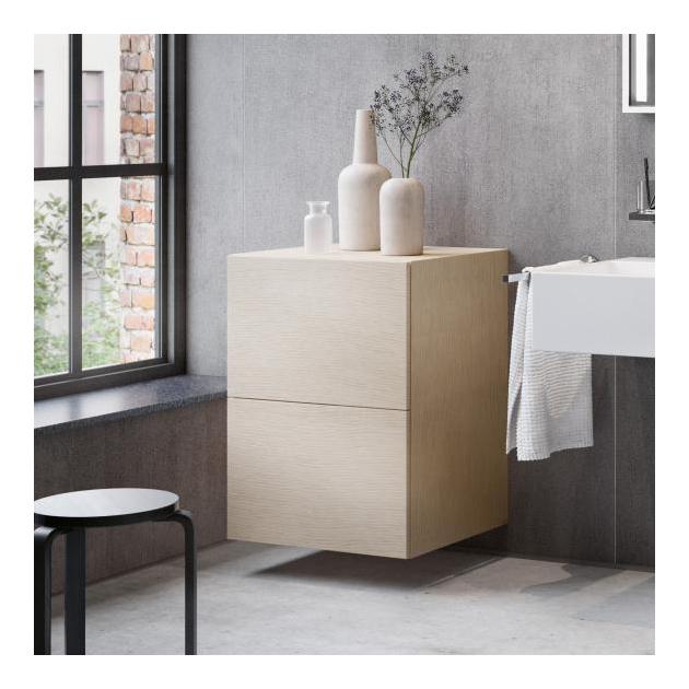 Mobiletto per bagno con 2 cassetti Keuco Edition 90 - 39035