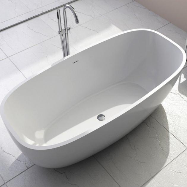 Biarritz  - Freestanding Solid Surface Bathtub 170cm