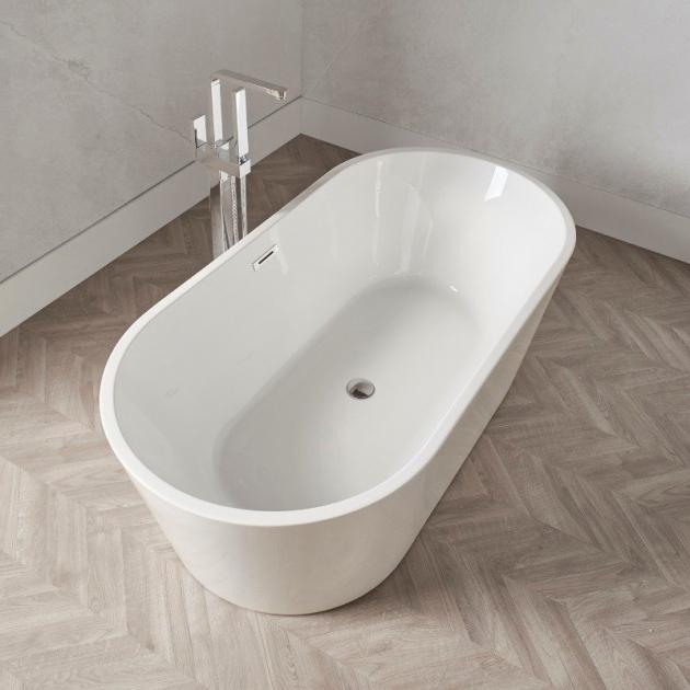 Bruges Freestanding Acrylic Bathtub 135cm