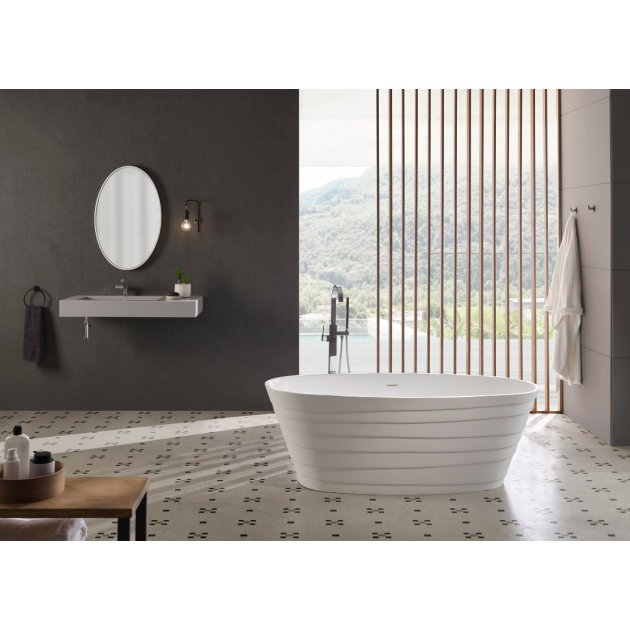 Chic 180cm - Freestanding Solid Surface Bathtub