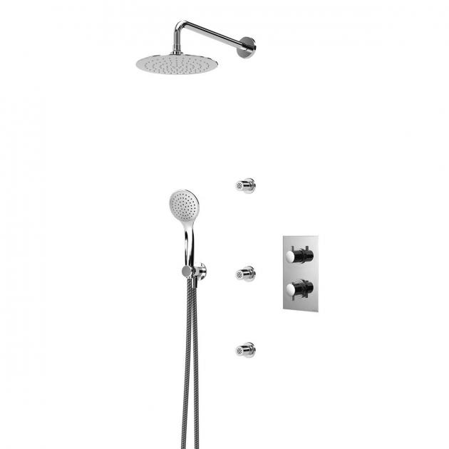 Concealed Single Lever Shower Tap - 1389103CR