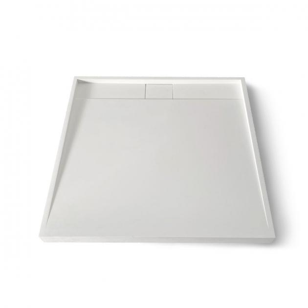 D3 - Piatto doccia rialzato in Solid Surface - 90x90cm