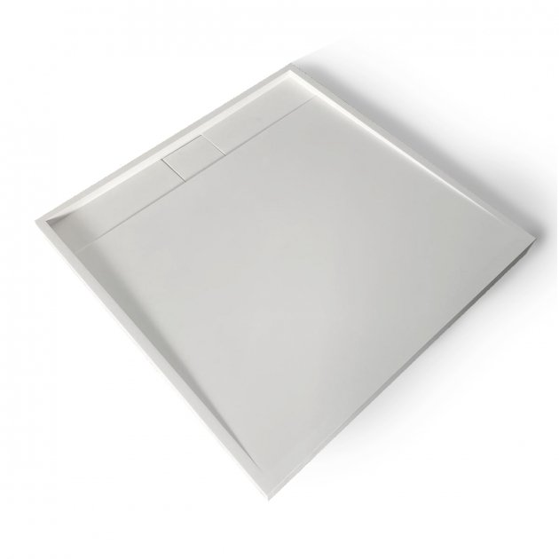 D3 - Solid Surface Shower Tray - 90x90cm