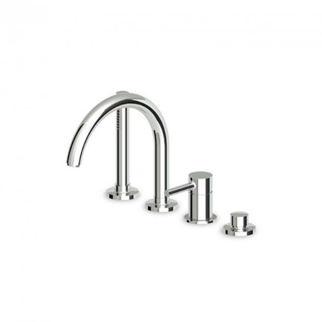 Deck Mounted Single Lever Bathtub Tap -