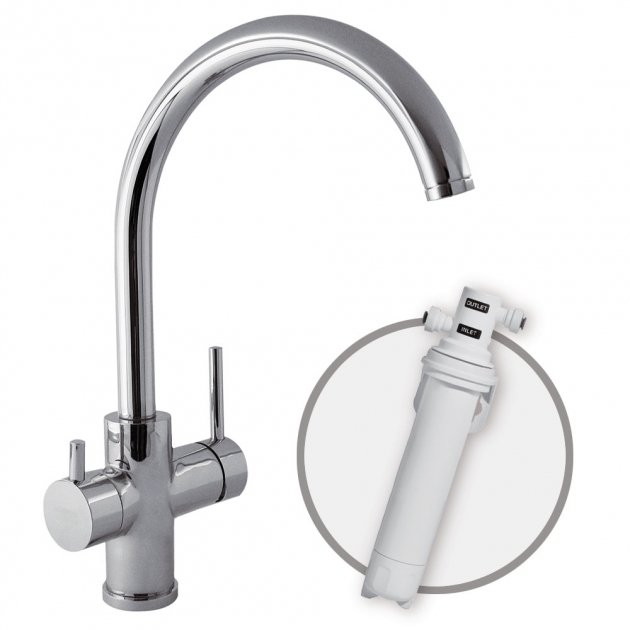Deck Mounted Single Lever Kitchen Tap - 03035501