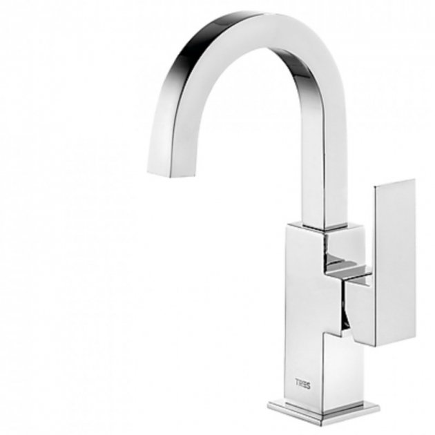 Deck Mounted Single Lever Washbasin Tap - 106605
