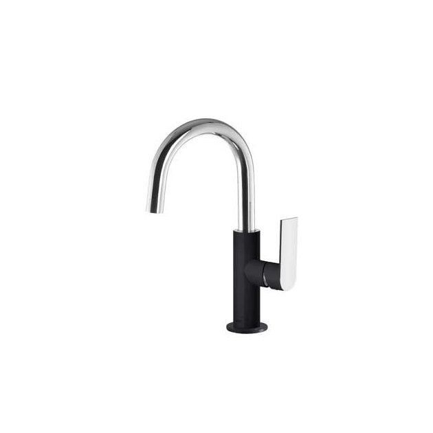 Deck Mounted Single Lever Washbasin Tap - 20020504
