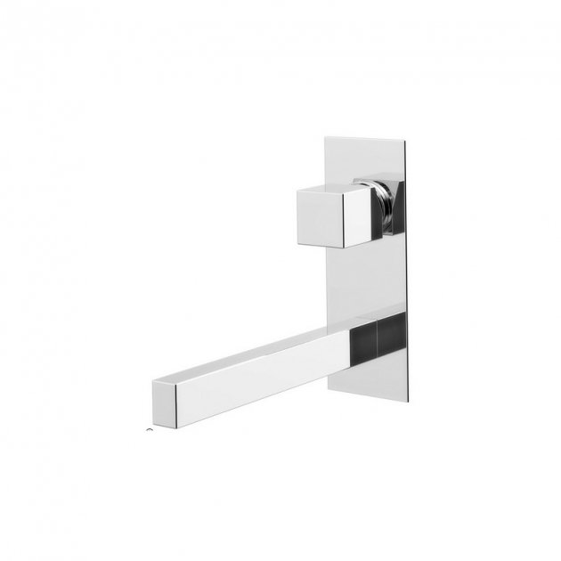 Wall Mounted Single Lever Washbasin Tap - 301 28 021