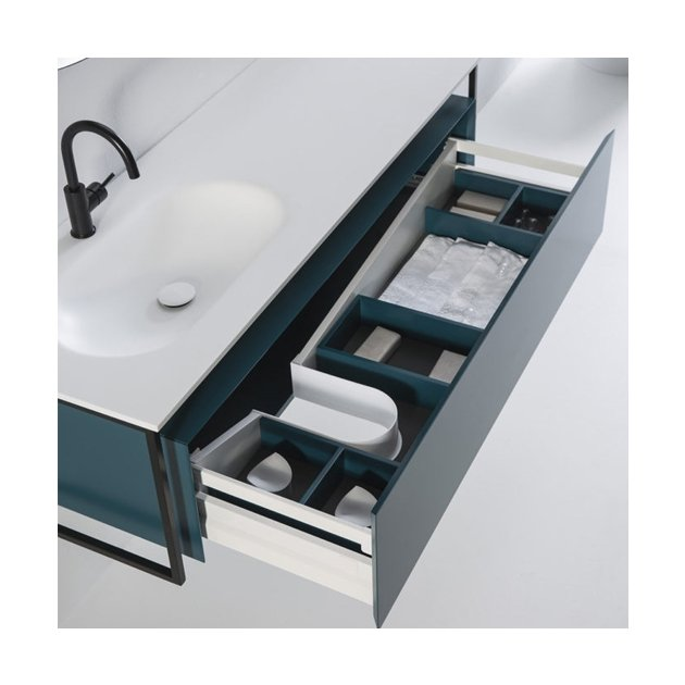 Depay - Wall Mounted Solid Surface Vanity Unit