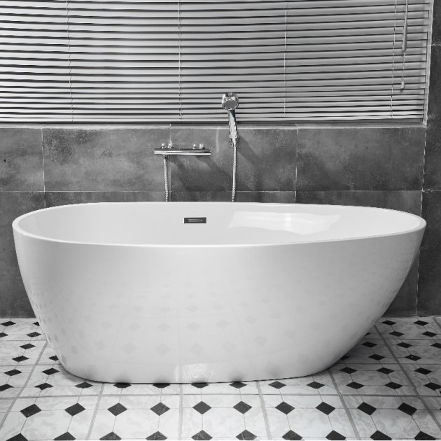 EGG - Freestanding Acrylic Bathtub 170cm