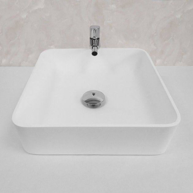 Enera - Lavabo soprapiano in Solid Surface
