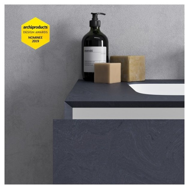 Corian® Colour Evening Prima Carthage Excelsior - DuPont™ Wall Mounted Vanity Unit