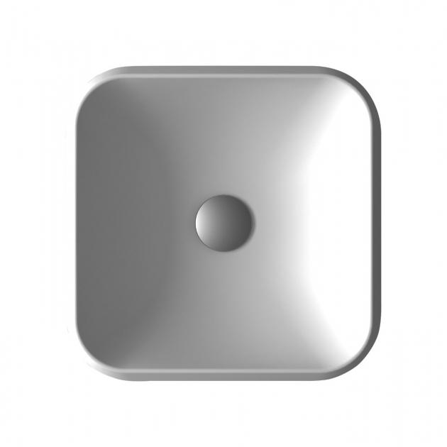 Falda Square - Lavabo soprapiano in Solid Surface