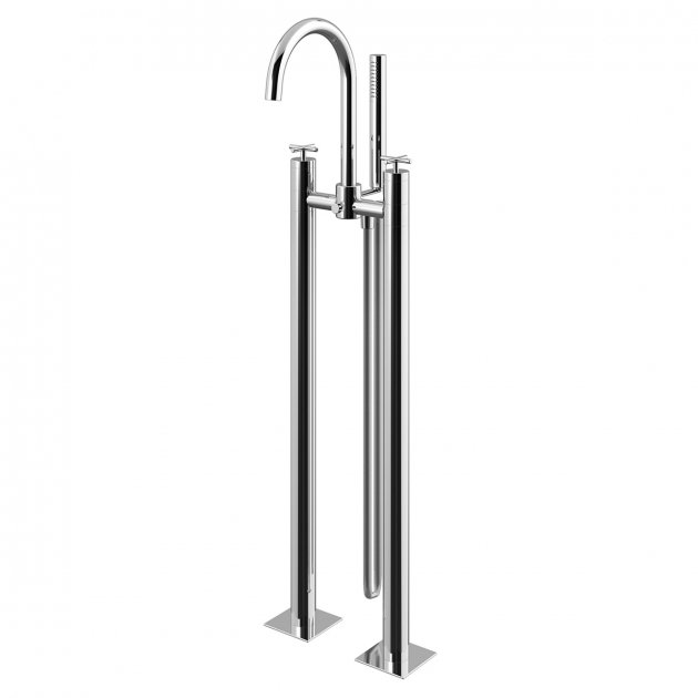 Floor Mounted Bathtub Tap - 1068100CR
