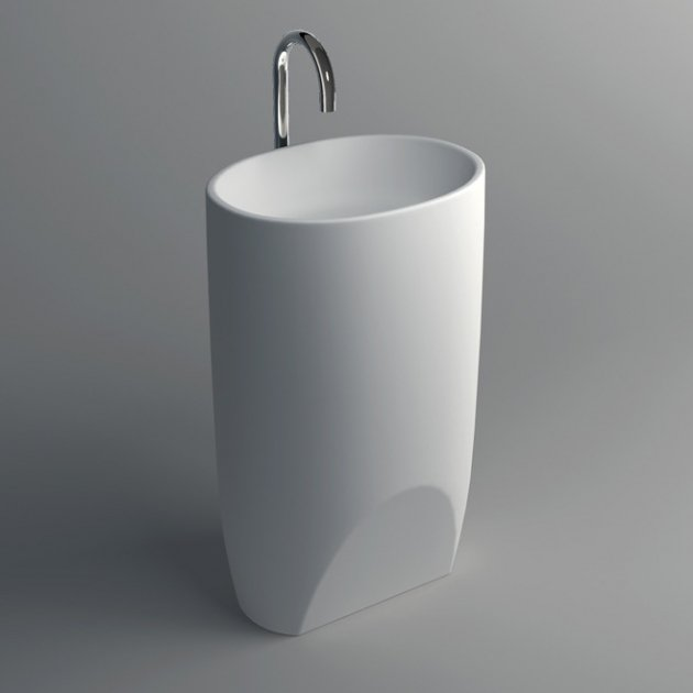 Grace - Lavabo Freestanding Solid Surface