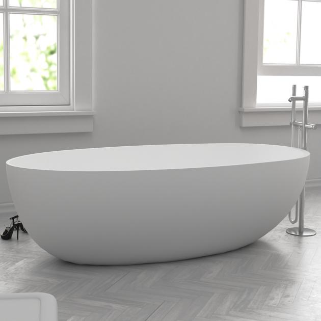 Hambourg Mini - Vasca da bagno indipendente in Solid Surface