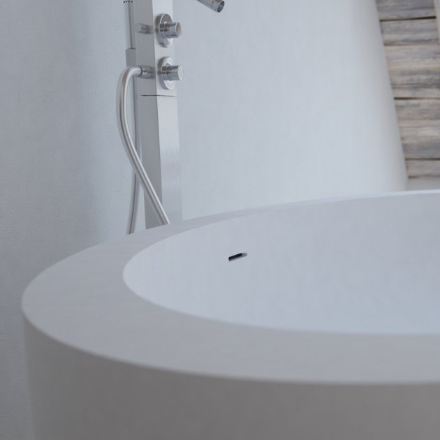 Hannover - Freestanding Solid Surface Bathtub