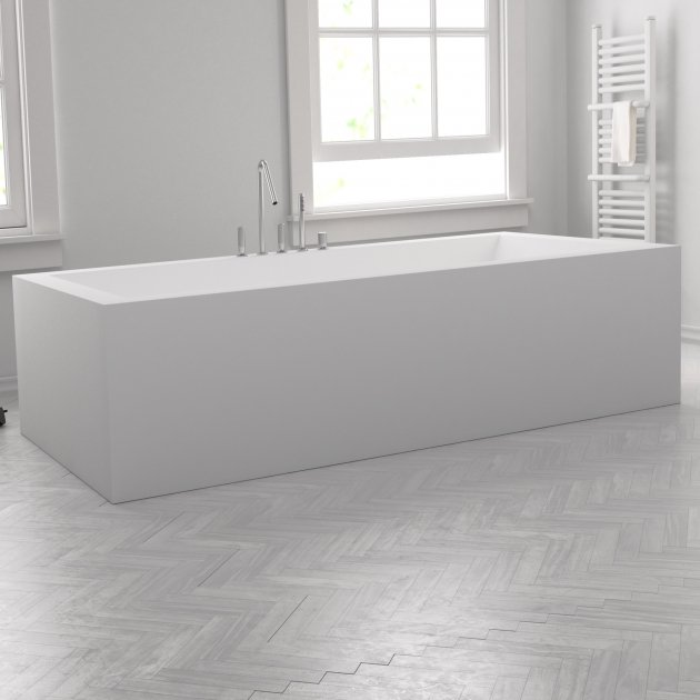 Island - Freestanding DuPont™ Corian® Bathtub