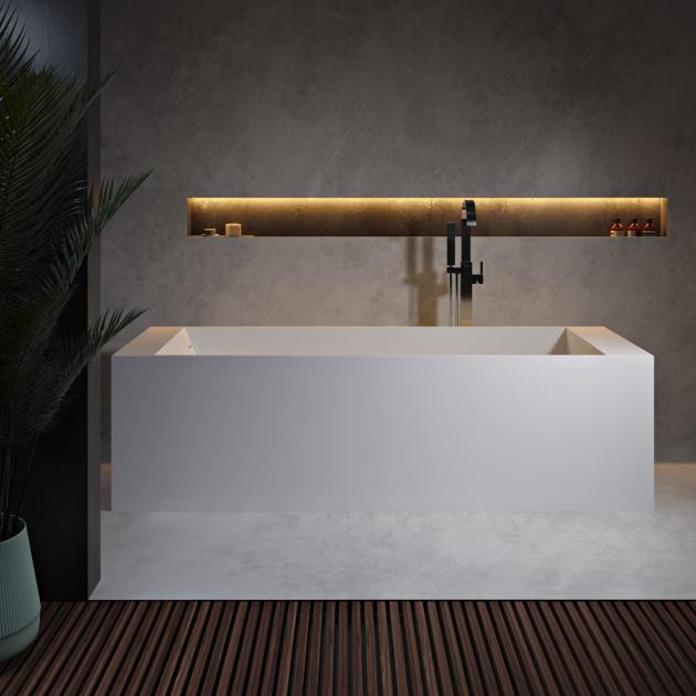 La Turbie 170cm - Vasca da bagno indipendente in Solid Surface