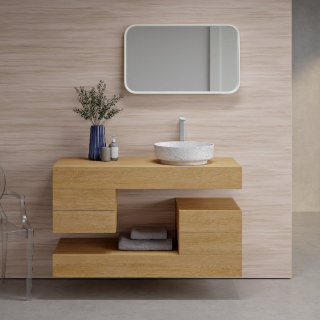 White Carrara - Marble Counter Top Washbasin