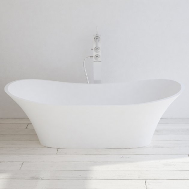 Lille - Vasca da bagno indipendente in Solid Surface