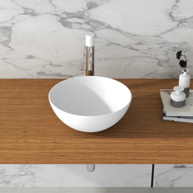 Lotus - Solid Surface Counter Top Washbasin