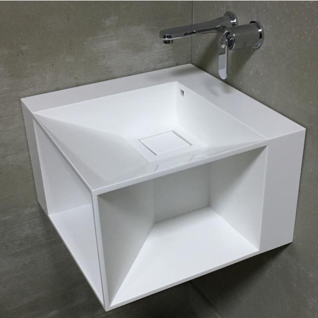 Lovers - DuPont™ Corian® Wall Mounted Washbasin