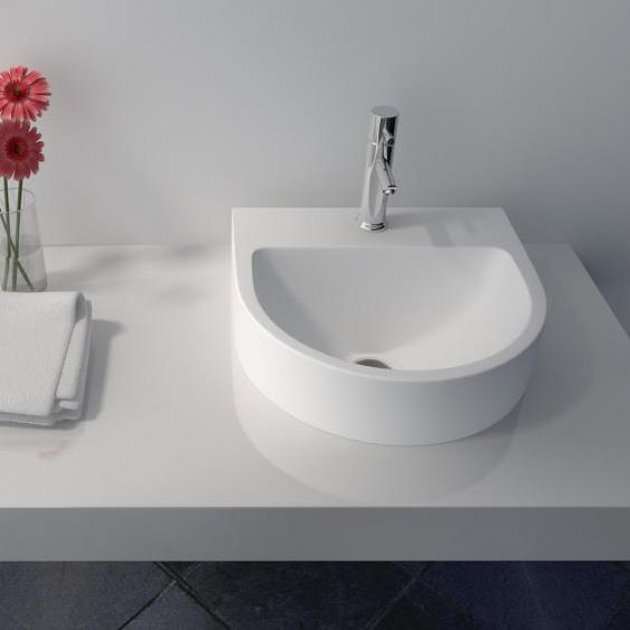 Luna - Solid Surface Counter Top Washbasin