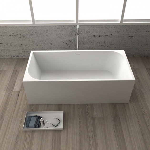 Madrid - Vasca da bagno indipendente in Solid Surface