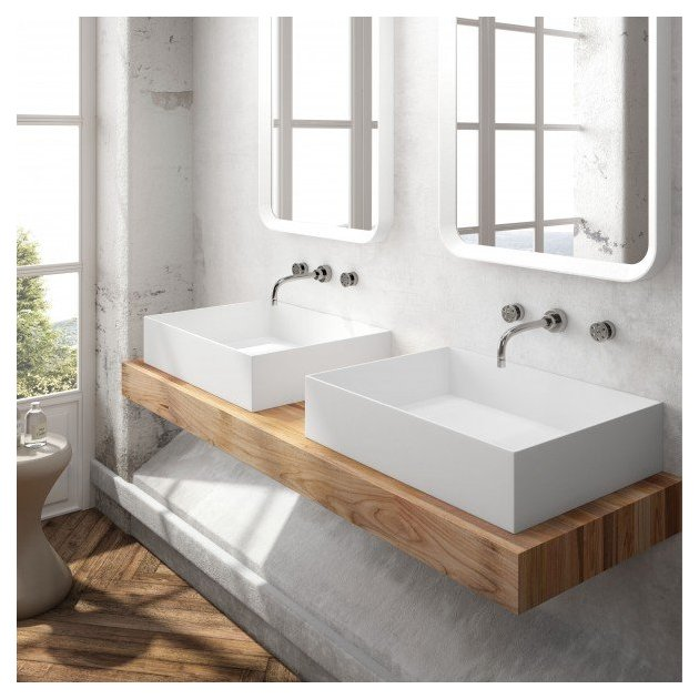 Maltese - Solid Surface Counter Top Washbasin