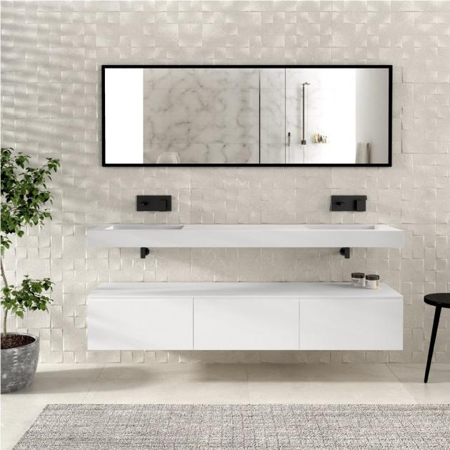 Modulo - Wall Mounted MDF Bathroom Cabinet