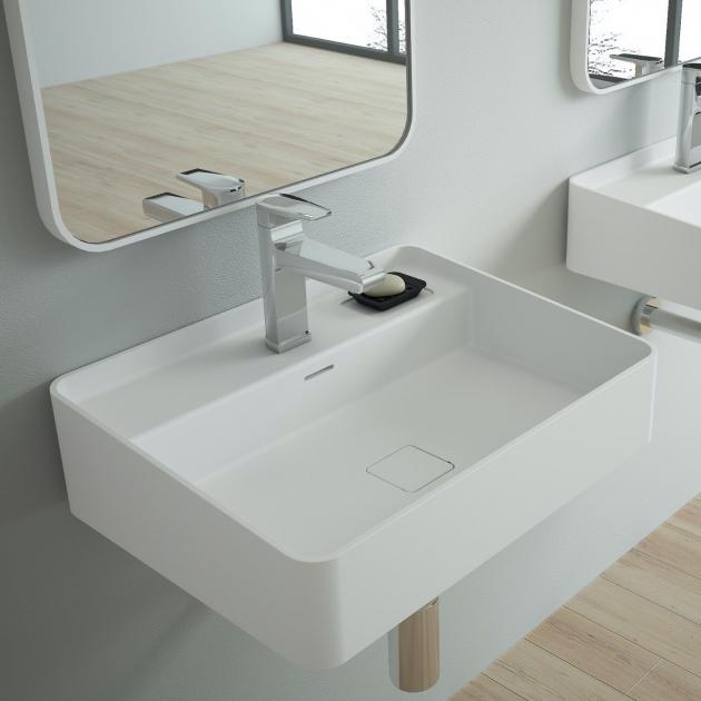 Myrtillo - Solid Surface Wall Mounted Washbasin